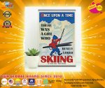 [LIMITED] Poster Once upon the time there was a girl who love skiing