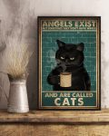 [LIMITED] Poster Angels exist but sometimes they don't have wings and are called cats