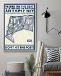 [LIMITED] Poster Hockey peeing on the seat don't hit the post
