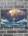 [LIMITED] Poster In the storm jesus walked to the water