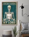 [LIMITED] Poster Skeleton your butt napkins my love