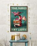 [LIMITED] Poster Dragon your fabrics my lady