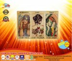 [LIMITED] Poster Hippie girl humanity is my race love is my religion peace is my spirit