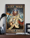 [LIMITED] Poster Hippie stay wild gypsy child