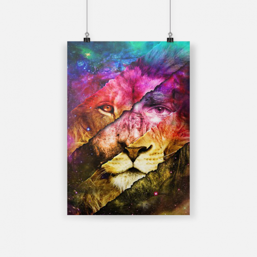 [NEW] ROARING LIKE A LION Gallery Wrapped Poster