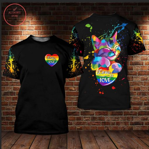 New Parade Pride 2021 LGBT Love Is Love 3D All Over Shirts
