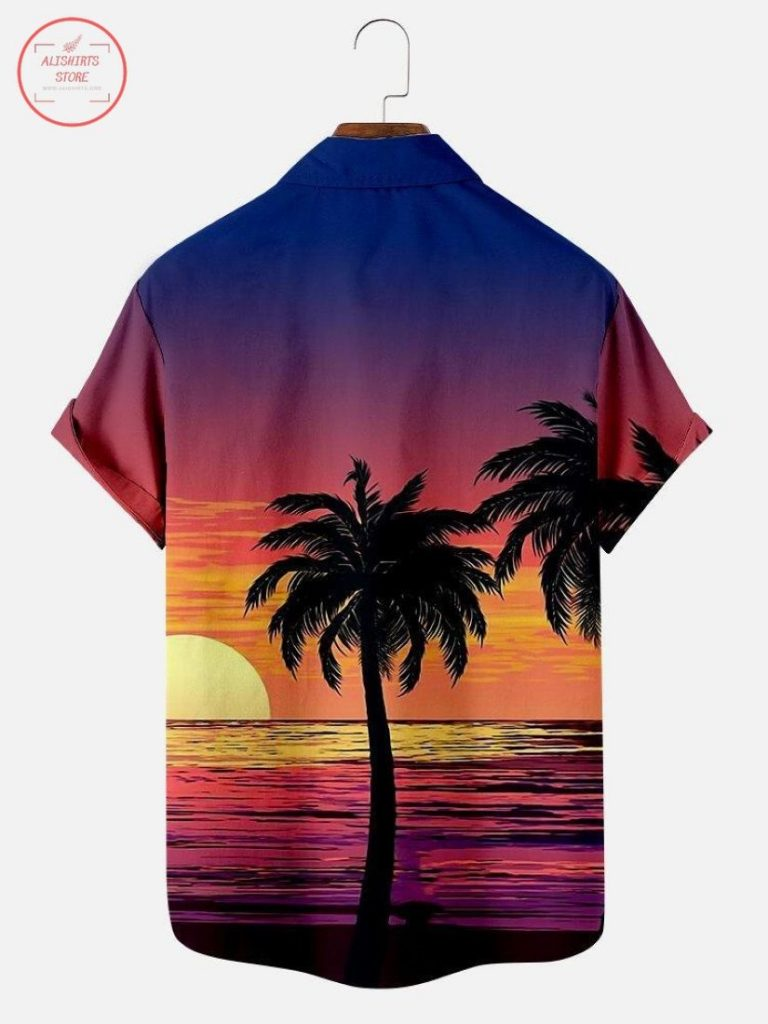 Adore Linen Clothing: Be Cool In Hot Climates: Sunset Today Hawaiian shirt