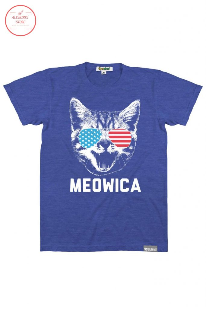 Meowica 4th of july cat shirts