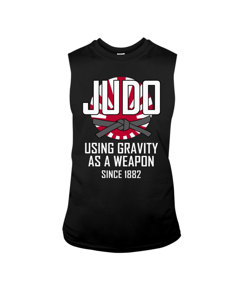 Judo using gravity as a weapon since 1882 shirt