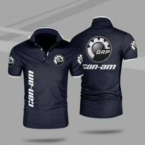 Can-am motorcycles 3d polo shirt