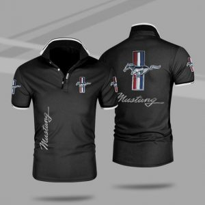 Ford mustang 3d polo shirt