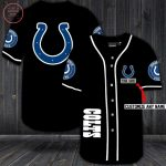 Indianapolis Colts Personalized Custom Baseball Jersey