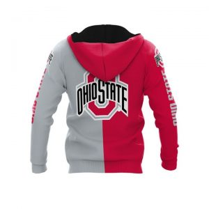 Ohio state buckeyes thank for the memories 3d hoodie