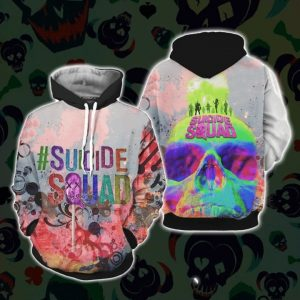 Suicide squad 3d all over print hoodie