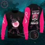 Breast Cancer Awareness Husband Love Ugly Christmas Sweater
