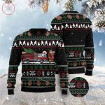 Santa Claus Firefighter Ugly Christmas Sweater