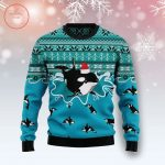 Whale-Santa-Claus-Ugly-Christmas-Sweater